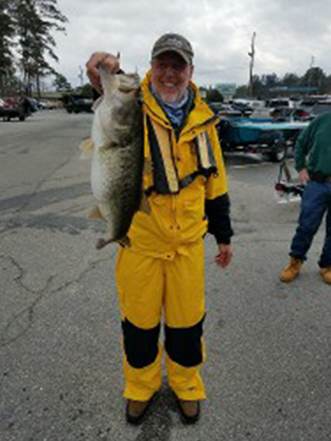 Dennis Whitcopf Lake Sinclair Biggest Fish Of The Year